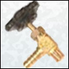 Brass Gas Connector Nozzle (M/F)
